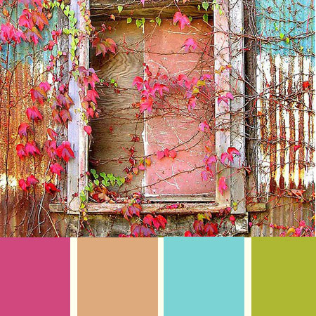 Color Palette of the week – colorful autumn