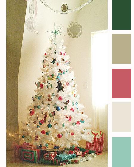 Paleta de colores de la semana – Fresca de la Navidad