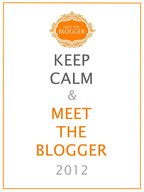 Meettheblogger 2012, I am there!