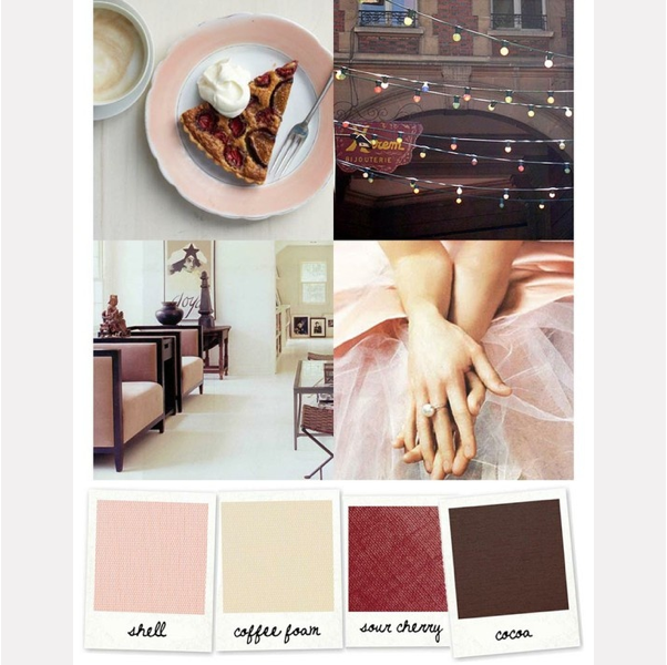 Palette – romantic wedding