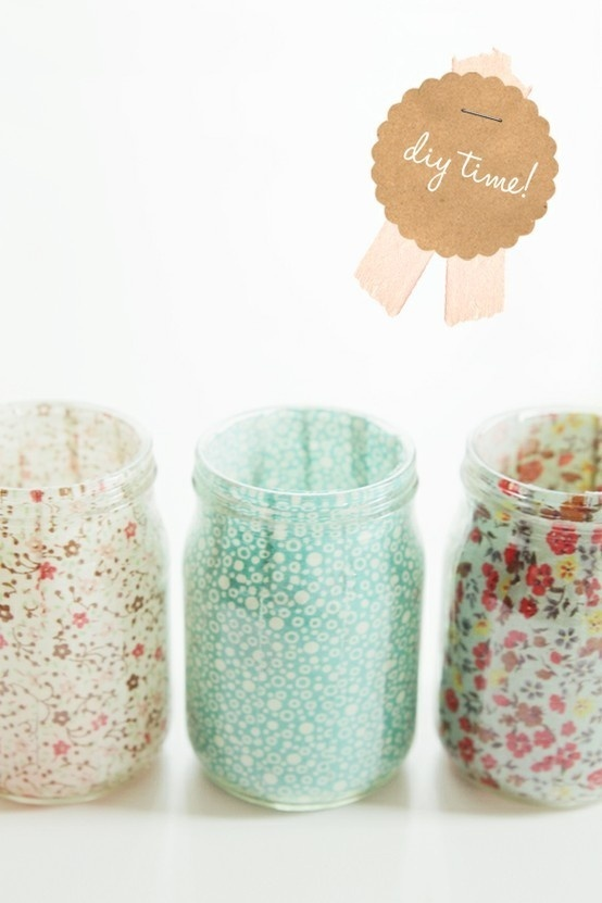Make it Monday – DIY jars
