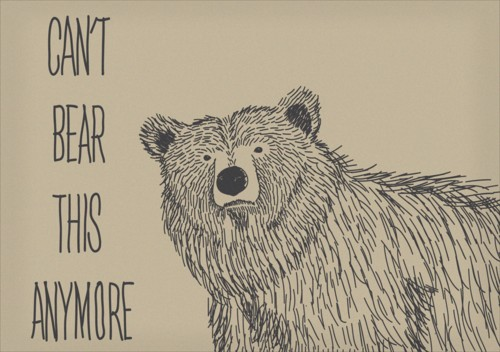Quote I love – can't bear