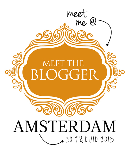 Meet the blogger Amsterdam 2013