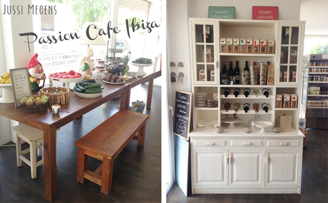 Healthy cafe Passion op Ibiza
