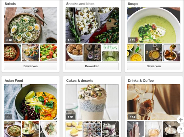 Een selectie van mijn food boards op Pinterst... Hmmm zoveel inspiratie