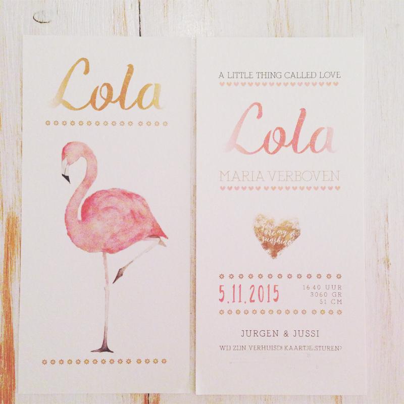 lola-geboortekaartje-eigen-ontwerp-proefdruk