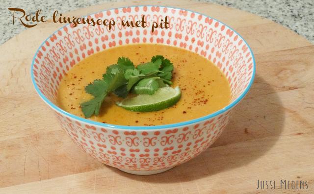 Comida- Sopa de lentejas rojas picante! Dit recept van de Groene Meisjes staat in een handomdraai op tafel!